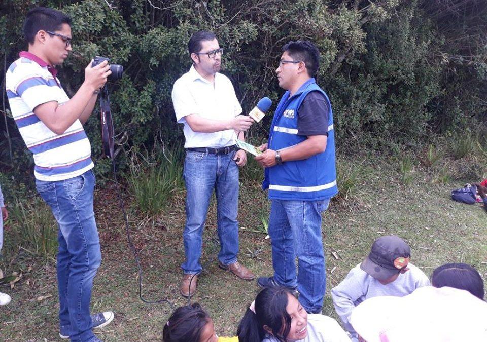 Proyecto de Educación Ambiental en la zona de amortiguamiento del ABVPA
