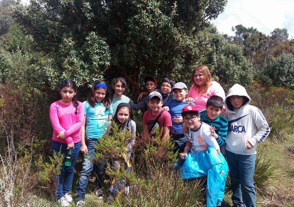 Visita al Bosque Protector Aguarongo